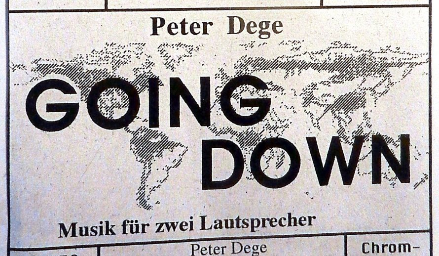 going-down-grafik