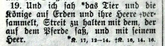 Offenbarung 19, 19