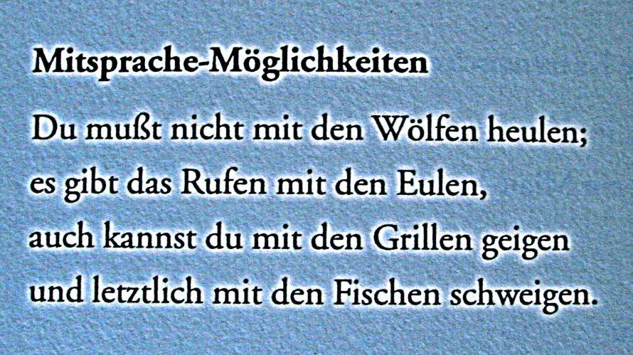 Waldemar Dege - Mitsprache-Möglichkeiten