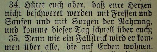Lukas 21, 34-35