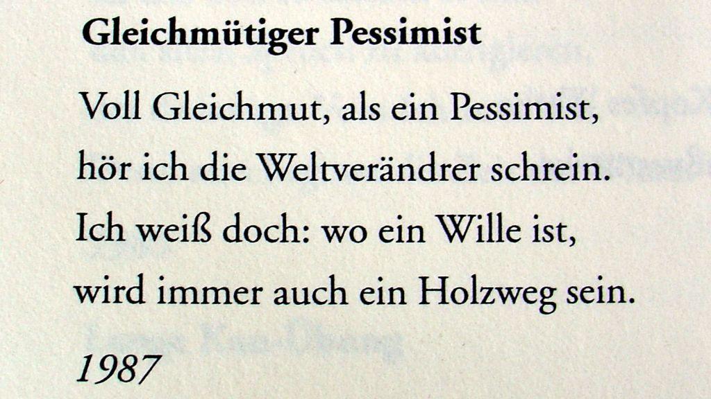 waldemar-dege-gleichmuetiger-pessimist-1987
