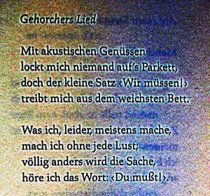 Waldemar Dege - Gehorchers Lied - 1973