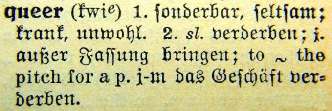 Langenscheidts Taschenwörterbuch – Berlin 1929